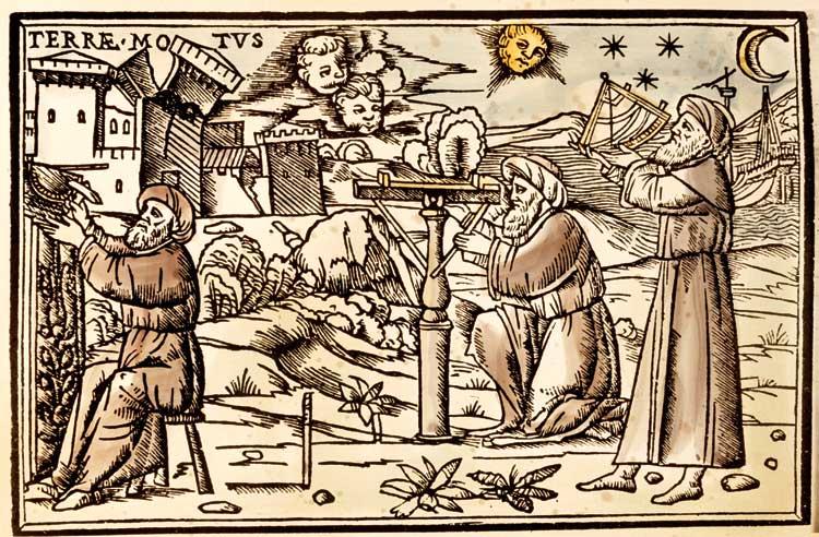 Astrologers taking observations