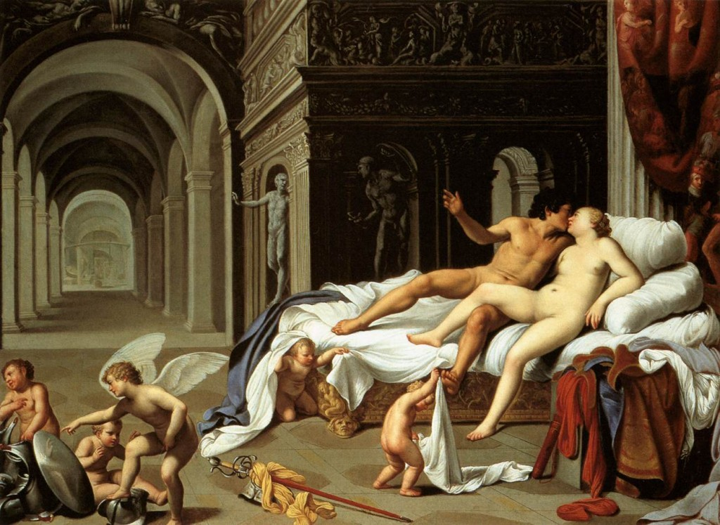 Carlo_Saraceni_-_Venus_and_Mars_-_WGA20836